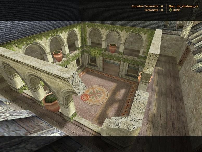«de_chateau_cz» для CS 1.6