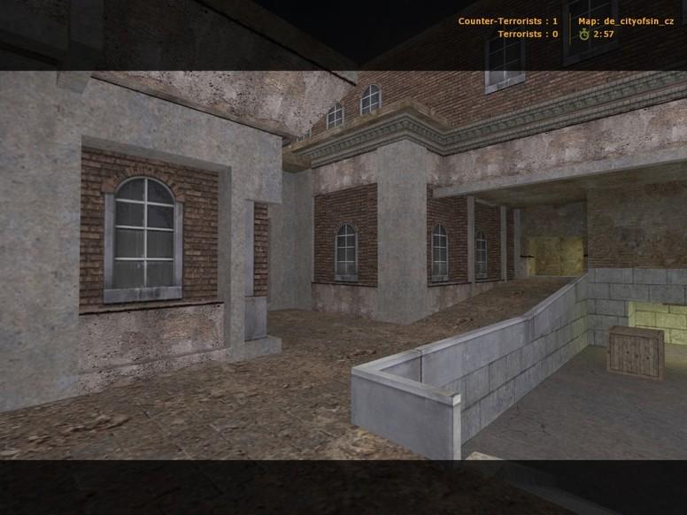 «de_cityofsin_cz» для CS 1.6