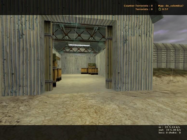 «de_colombia» для CS 1.6