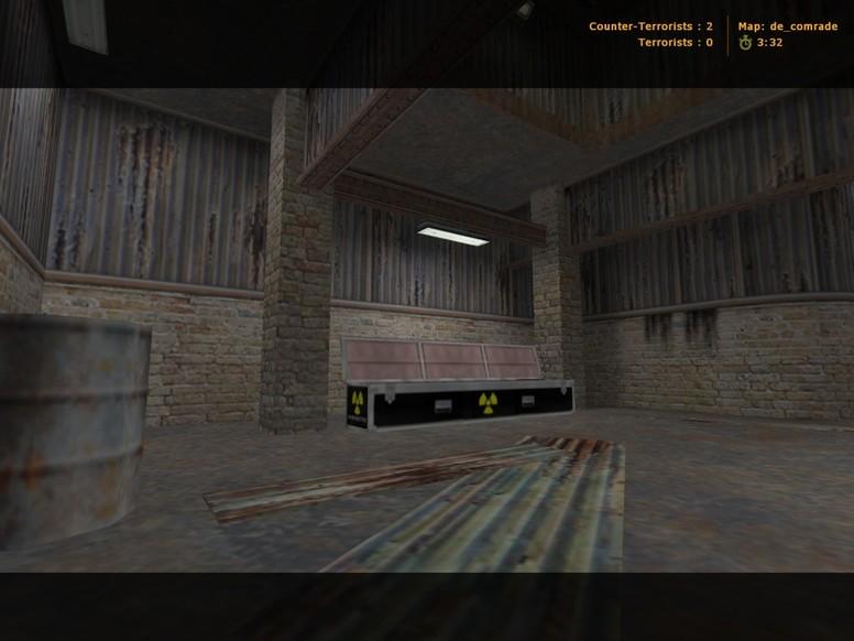«de_comrade» для CS 1.6