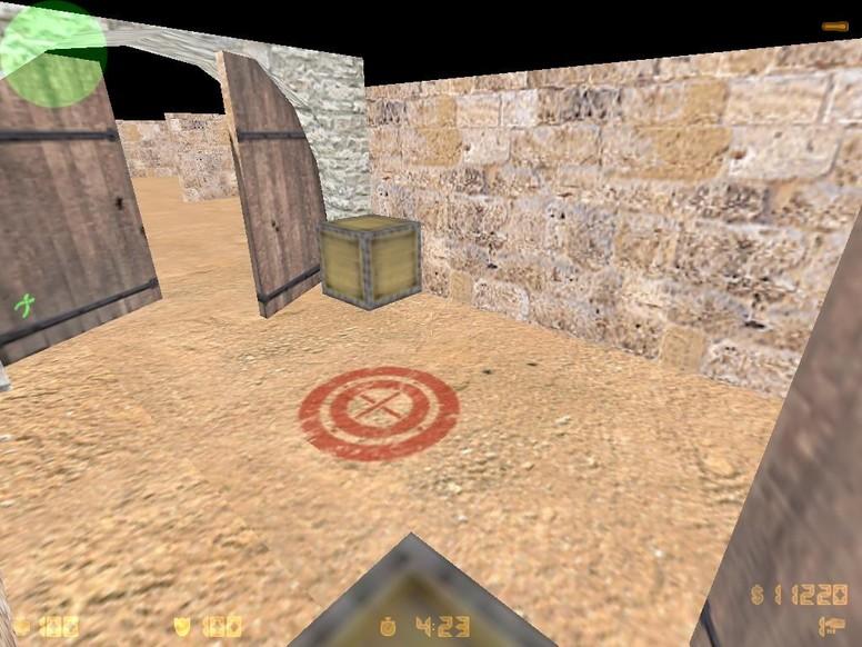 «de_crate» для CS 1.6