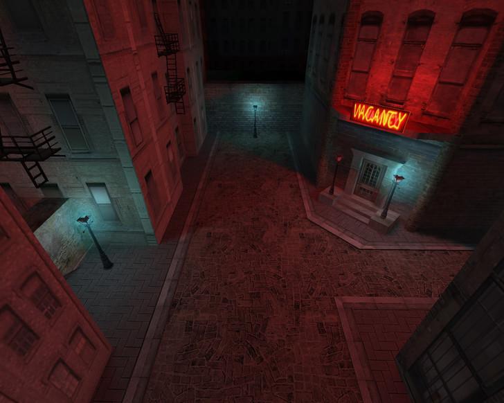 «de_dark_city» для CS 1.6