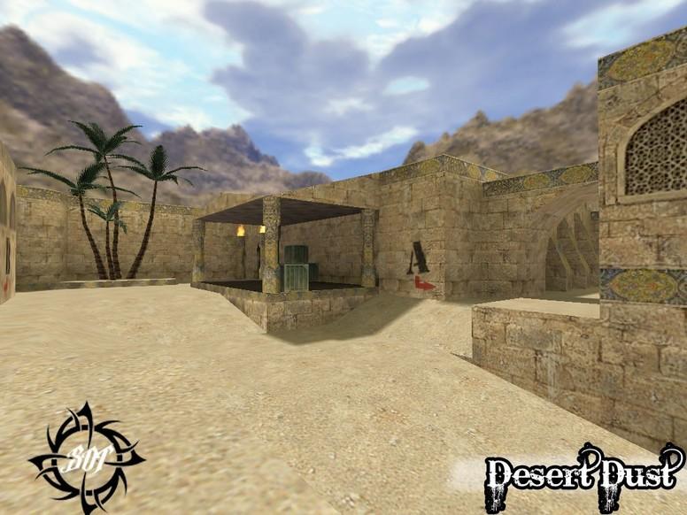 «de_desert_dust_b1» для CS 1.6