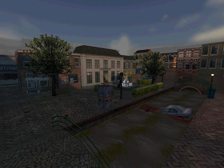 «de_downtown» для CS 1.6