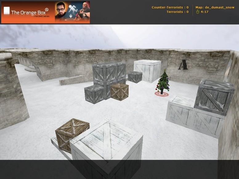 «de_dumast_snow» для CS 1.6