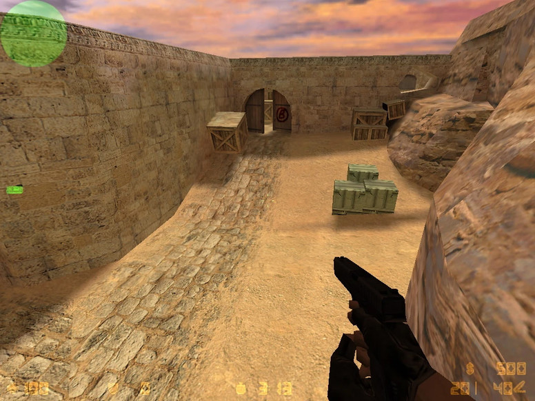 «de_dust11» для CS 1.6
