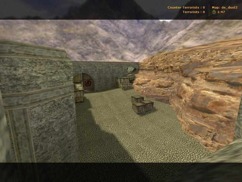 «de_dust2» для CS 1.6