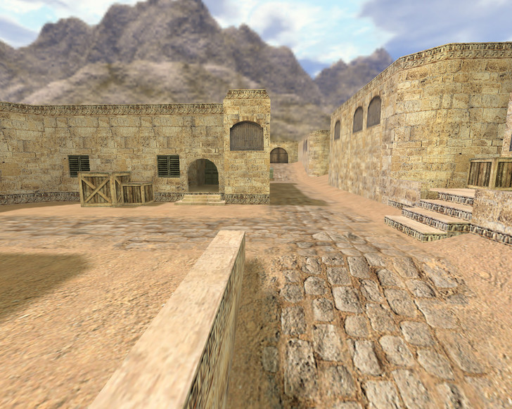 «de_dust2012» для CS 1.6