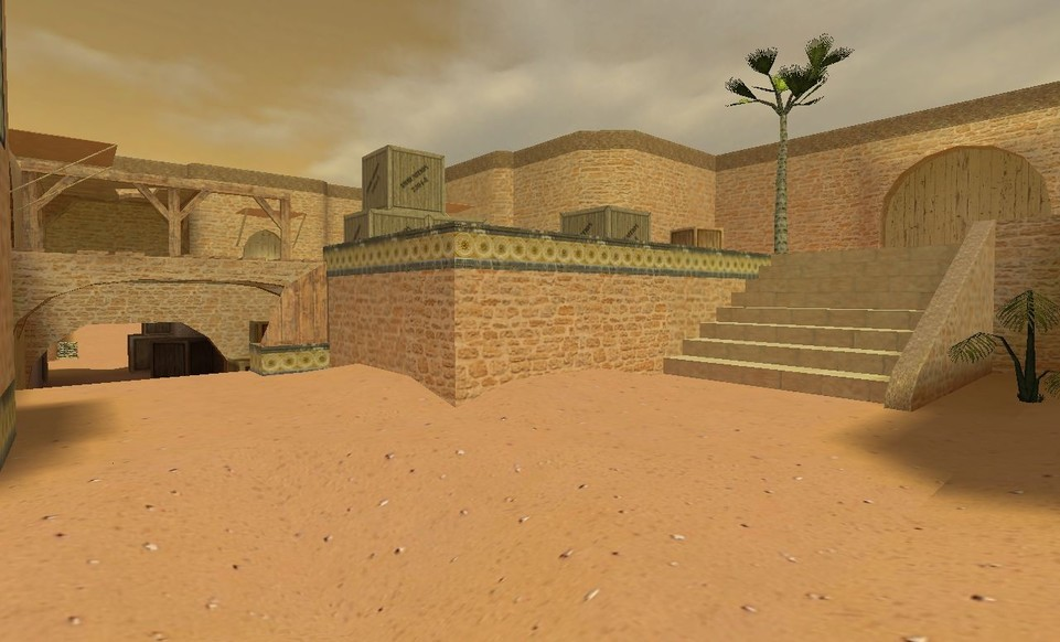 «de_dust2_2013_final» для CS 1.6