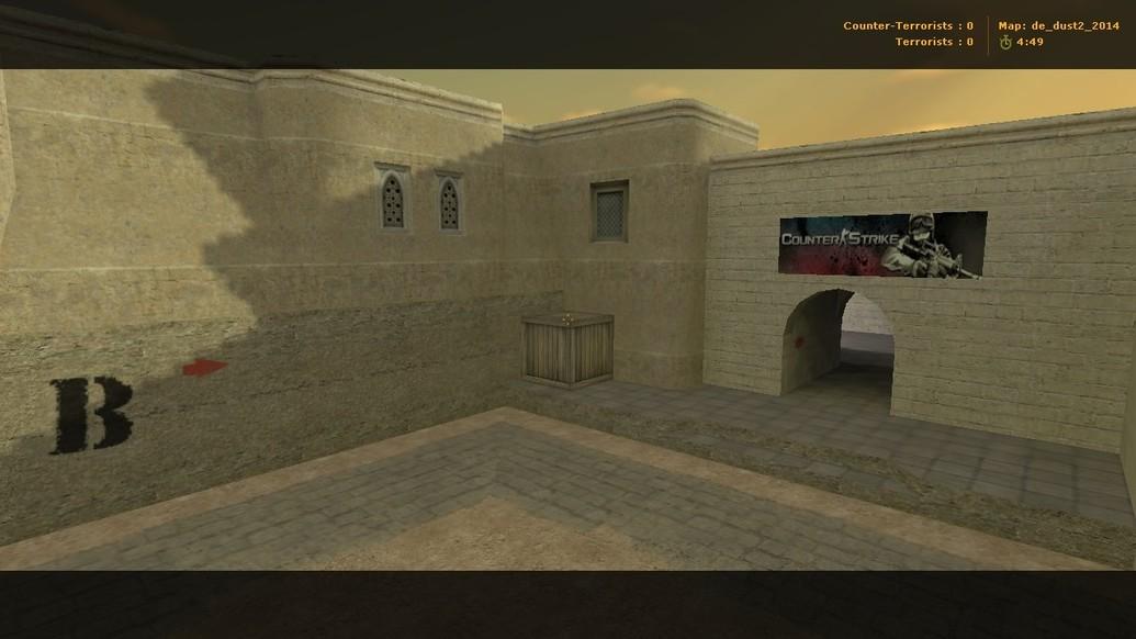 «de_dust2_2014» для CS 1.6