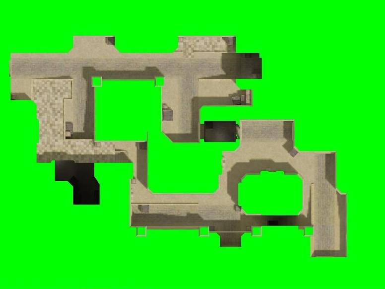 «de_dust2_2x2_css» для CS 1.6