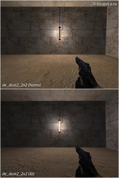 «de_dust2_2x2_ilz» для CS 1.6
