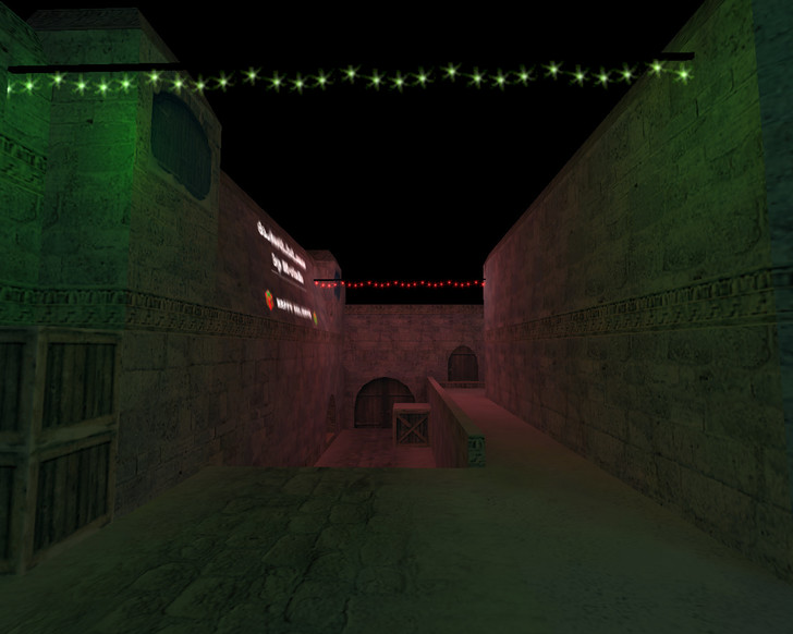 «de_dust2_2x2_xmas» для CS 1.6
