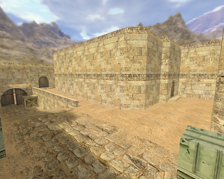 «de_dust2_3x3» для CS 1.6
