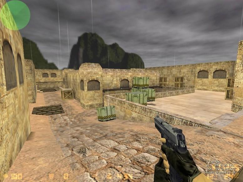 «de_dust2_bosna» для CS 1.6