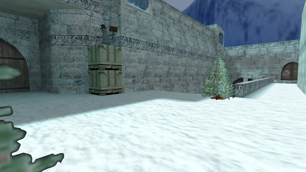 «de_dust2_christmas» для CS 1.6