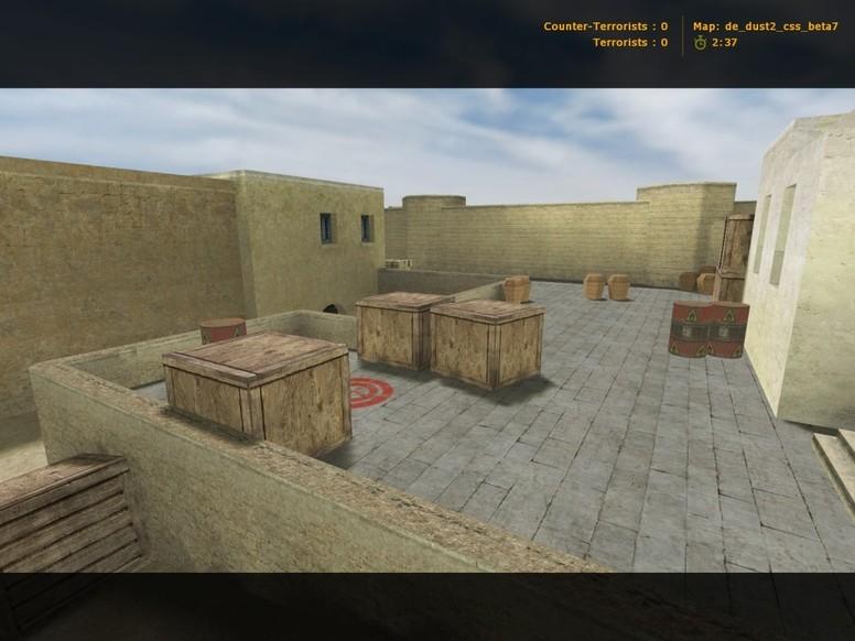 «de_dust2_css_beta7» для CS 1.6