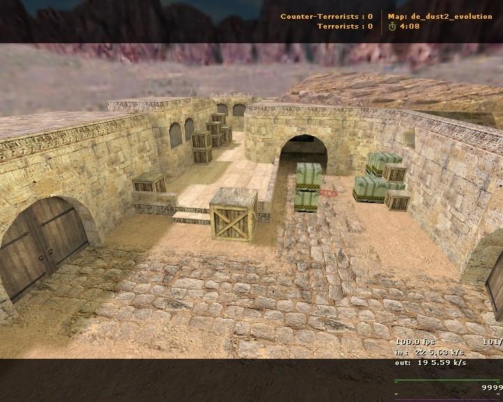 «de_dust2_evolution» для CS 1.6