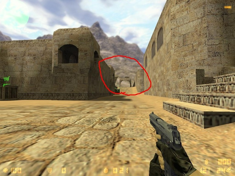 «de_dust2_largo_advanced» для CS 1.6