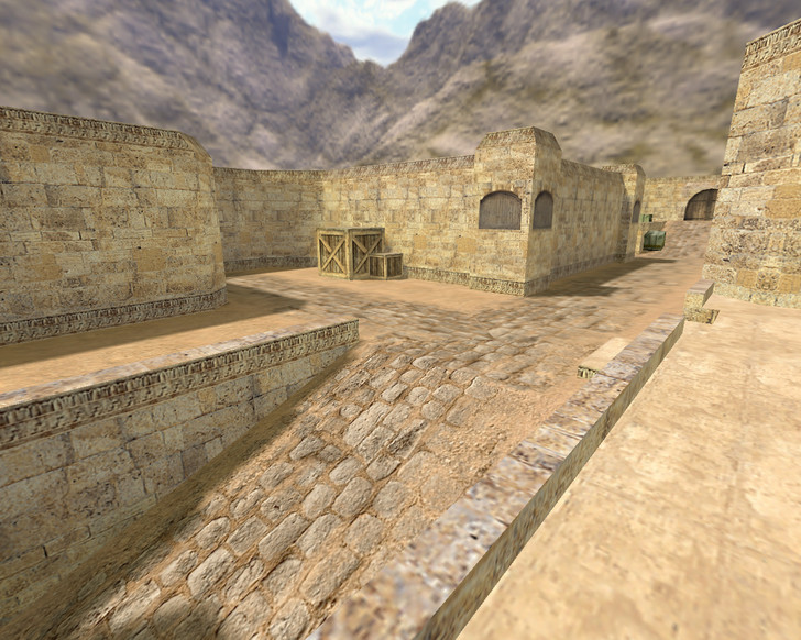 «de_dust2_long» для CS 1.6
