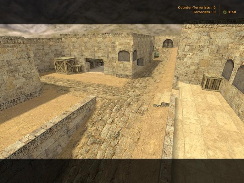 «de_dust2_long71» для CS 1.6