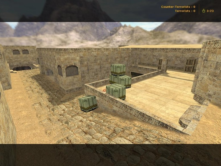 «de_dust2_long71» для CS 1.6