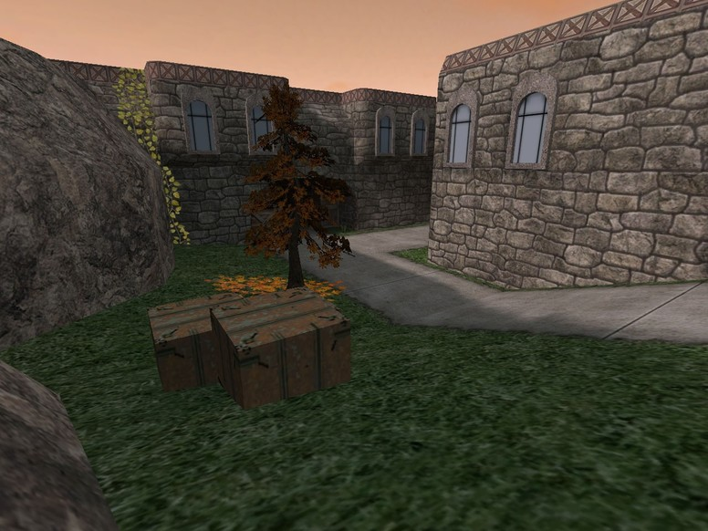 «de_dust2_medieval» для CS 1.6