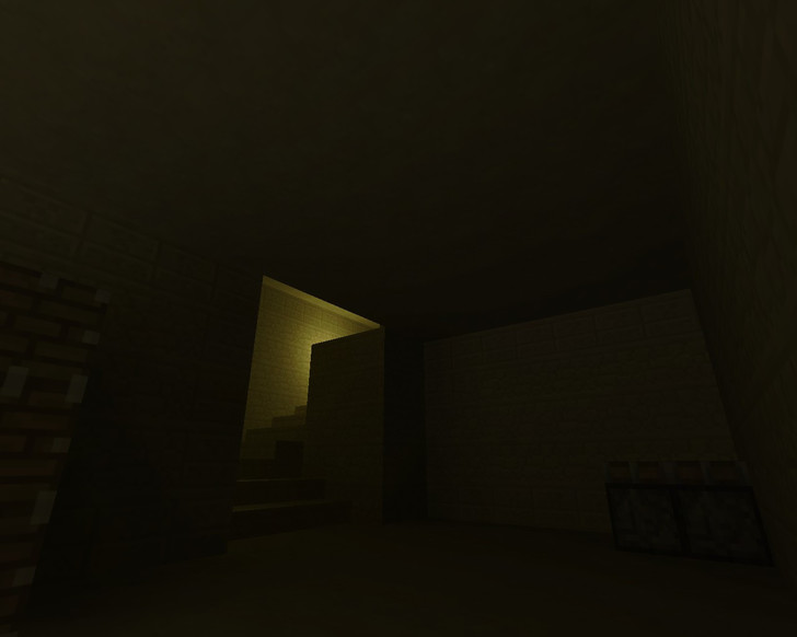 «de_dust2_minecraft» для CS 1.6