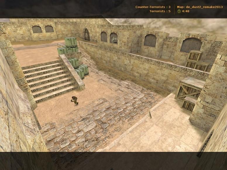 «de_dust2_remake2013» для CS 1.6