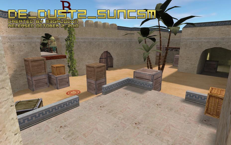 «de_dust2_suncsm» для CS 1.6