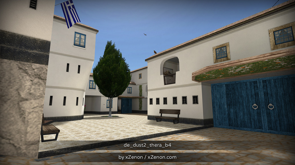 «de_dust2_thera_b3» для CS 1.6