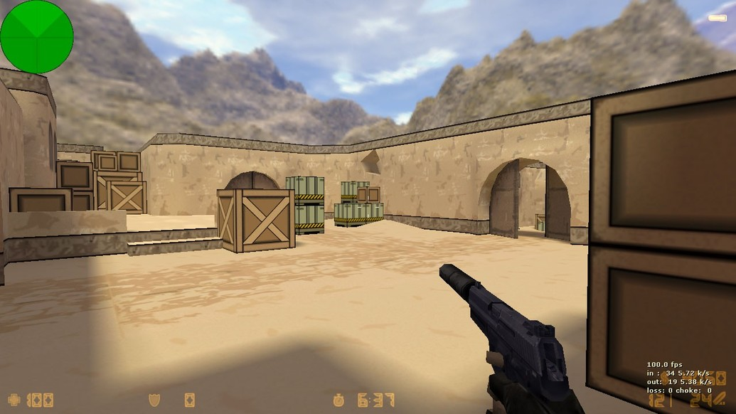 «de_dust2_toon» для CS 1.6