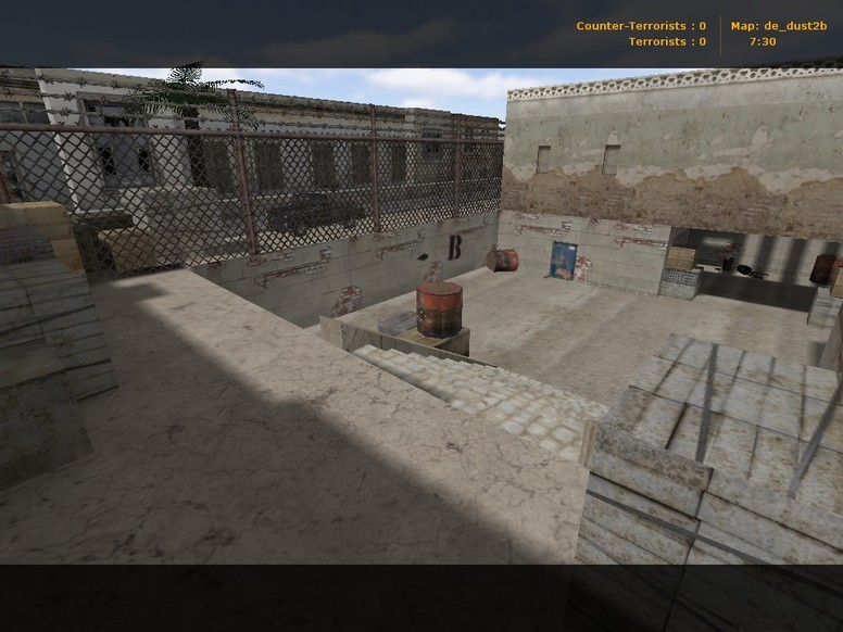 «de_dust2b» для CS 1.6