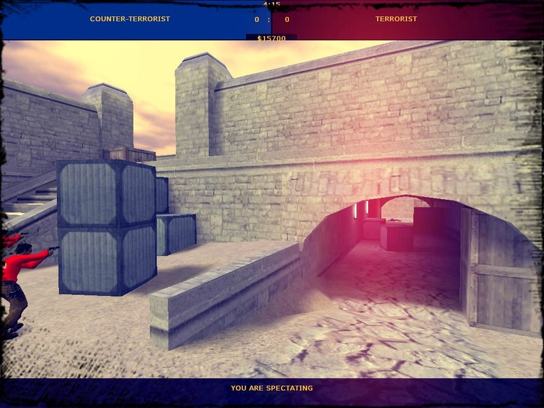 «de_dust2on2» для CS 1.6