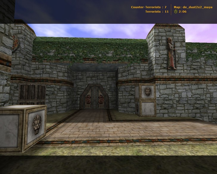 «de_dust2x2_maya» для CS 1.6