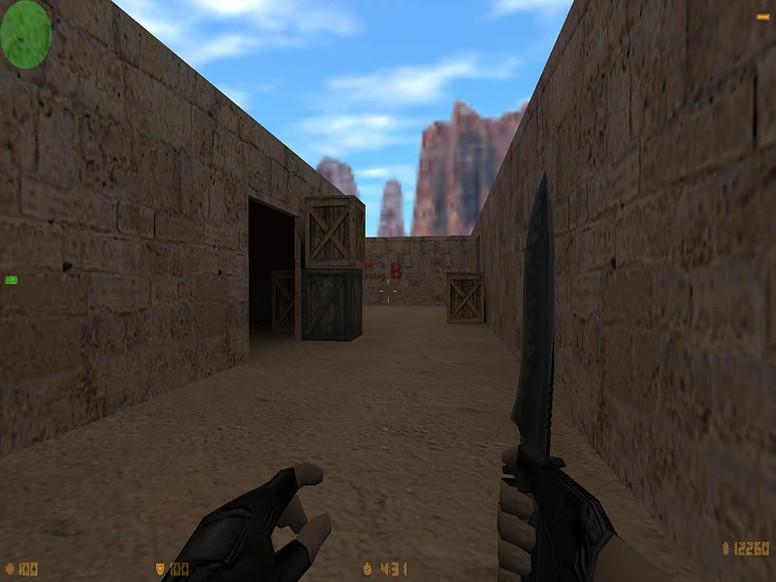 «de_dust3824» для CS 1.6