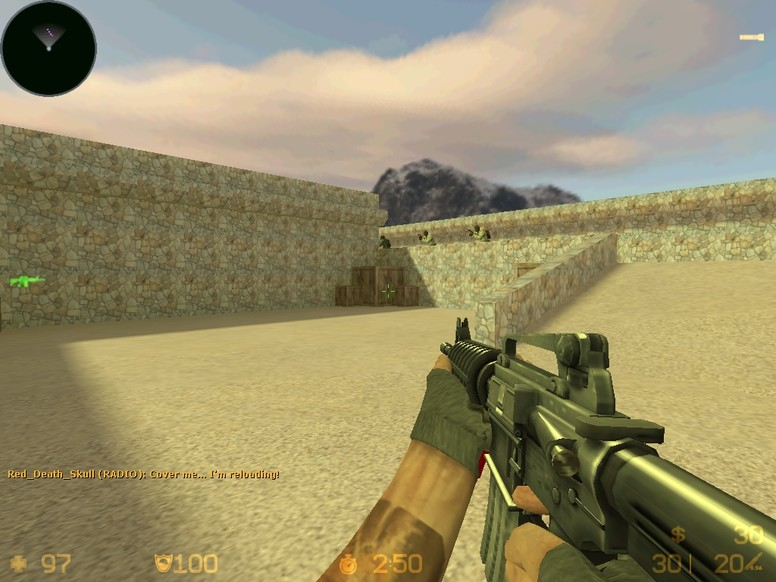 «de_dust3» для CS 1.6