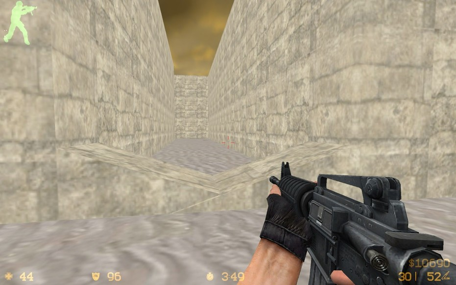 «de_dust3» для CS 1.6
