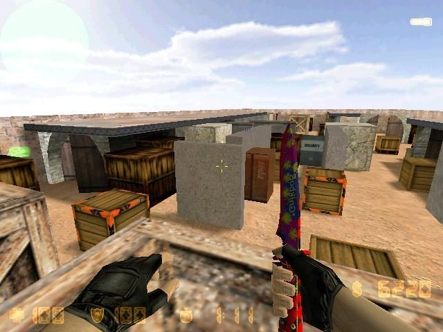 «de_dust3_mini» для CS 1.6
