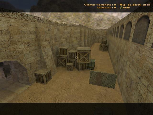«de_dust4_small» для CS 1.6