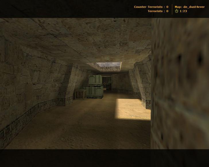 «de_dust4ever» для CS 1.6
