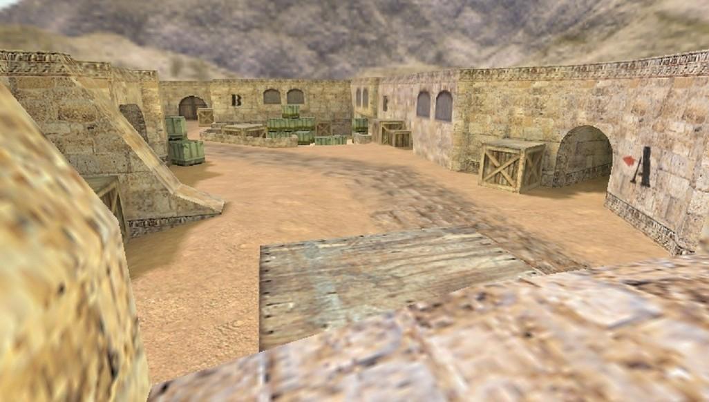 «de_dust4never» для CS 1.6