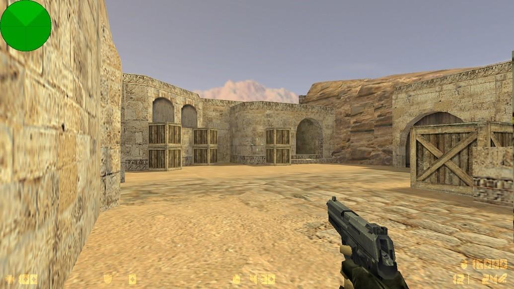 «de_dust_b» для CS 1.6