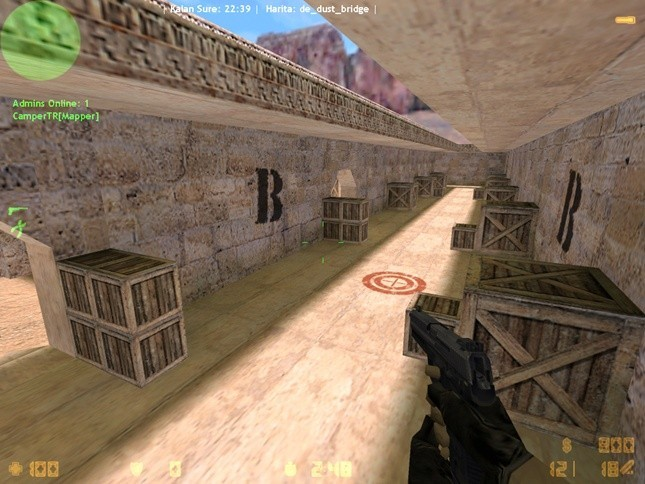 «de_dust_bridge» для CS 1.6