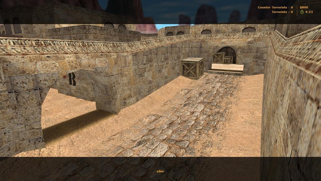 «de_dust_playme» для CS 1.6