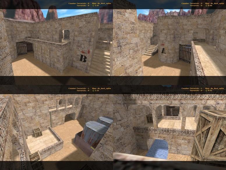 «de_dust_spike» для CS 1.6