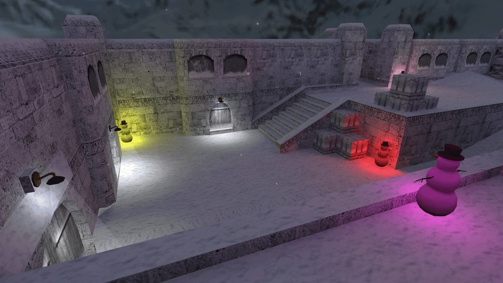 «de_dust_winter16» для CS 1.6