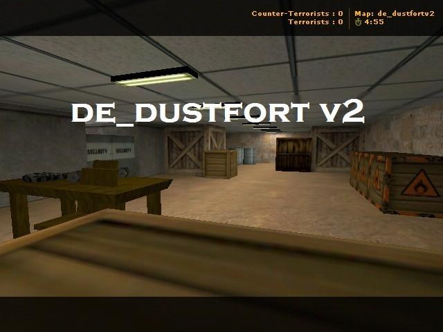 «de_dustfortv2» для CS 1.6
