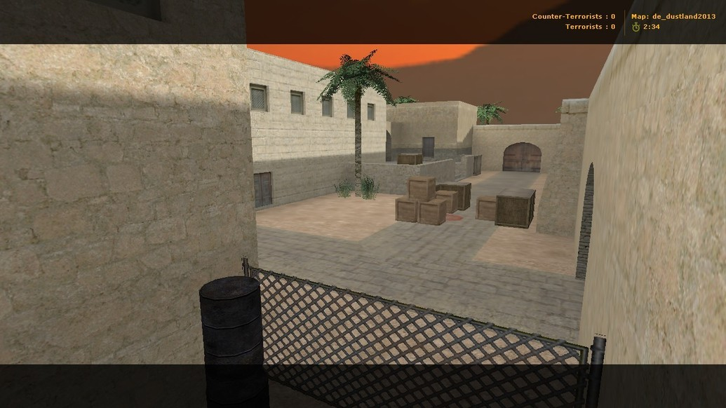 «de_dustland2013» для CS 1.6