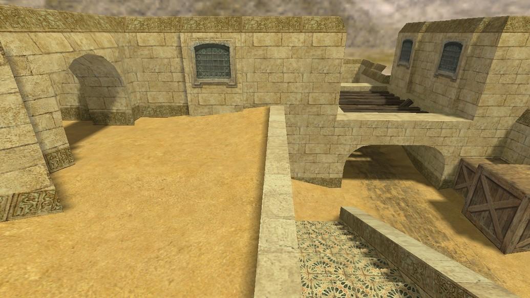 «de_dustlands2» для CS 1.6